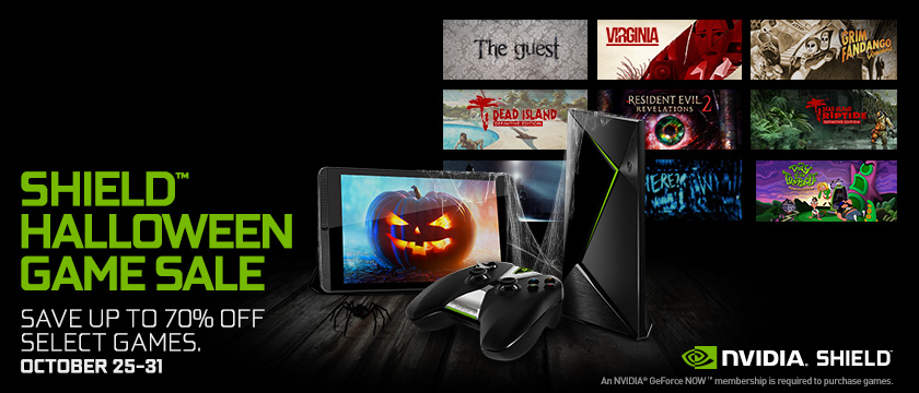 SHIELD Halloween Games Sale
