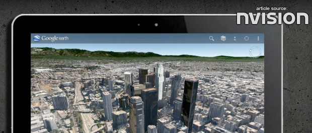 NVISION: New 3D Google Earth App Available