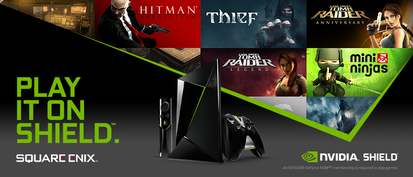 Check out the 5 new games from Square Enix available on GeForce NOW!