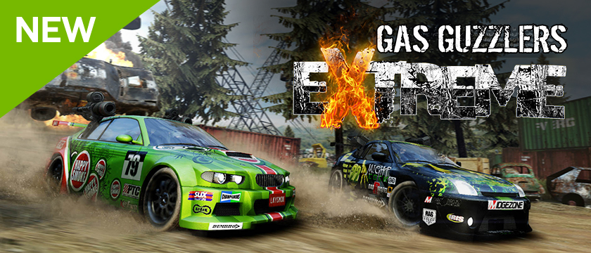 Now Streaming on NVIDIA SHIELD: Gas Guzzlers Extreme