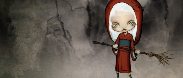 American McGee Conjured New Take on Red Riding Hood
