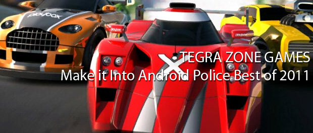Tegra Games Make it Into Android Police Best of 2011