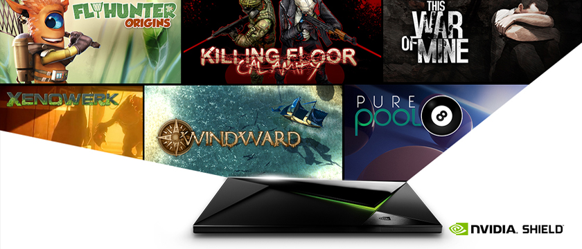 Seven Excellent New Games Now Available on NVIDIA SHIELD
