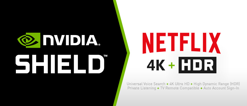 Best Streaming Device for Netflix is NVIDIA SHIELD Android TV