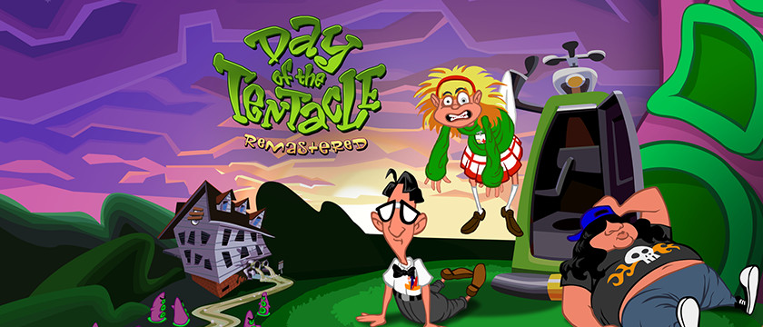 Play Day of the Tentacle Remastered on SHIELD with GeForce NOW