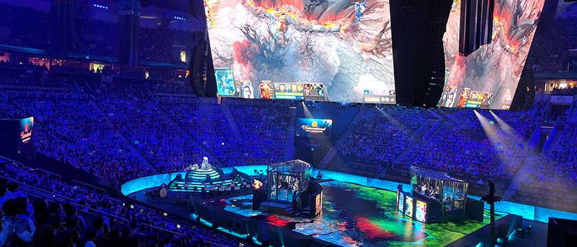 Why Go To The Dota  Final Just To Watch Total Strangers Play Video