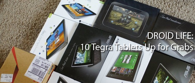 Droid Life: 10 Tegra Tablets Up for Grabs