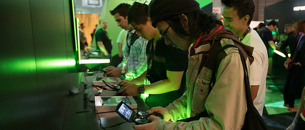 Gamers Get Hands on with SHIELD and Our Latest GeForce GPUs at E3