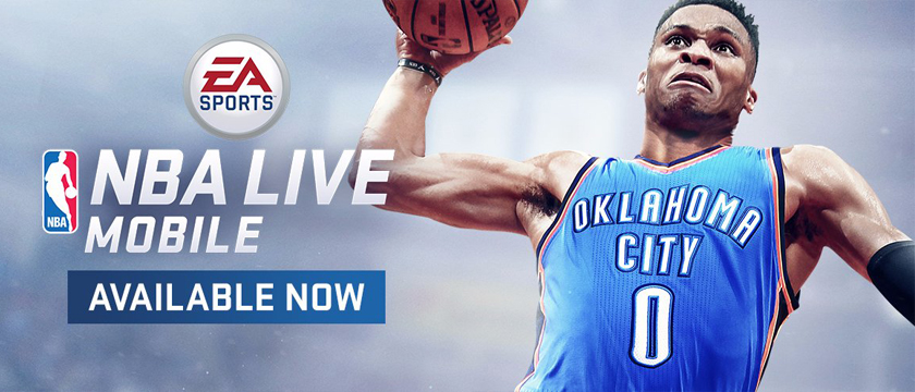 EA Sports launches NBA Live Mobile. Download the app and play on SHIELD tablet K1.