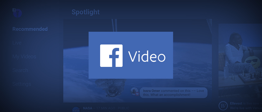 The Facebook App for Android TV Comes to SHIELD