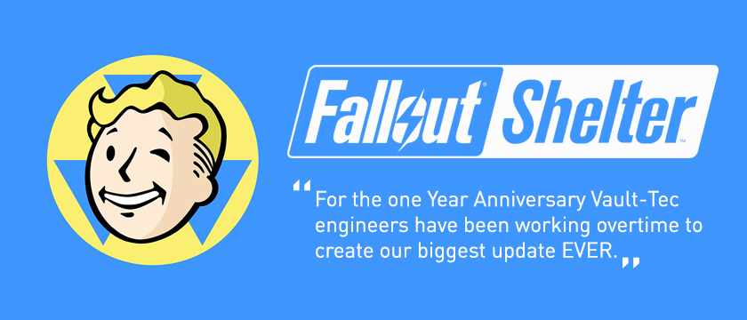 Check out the new Fallout Shelter Update 1.6 simulation game.