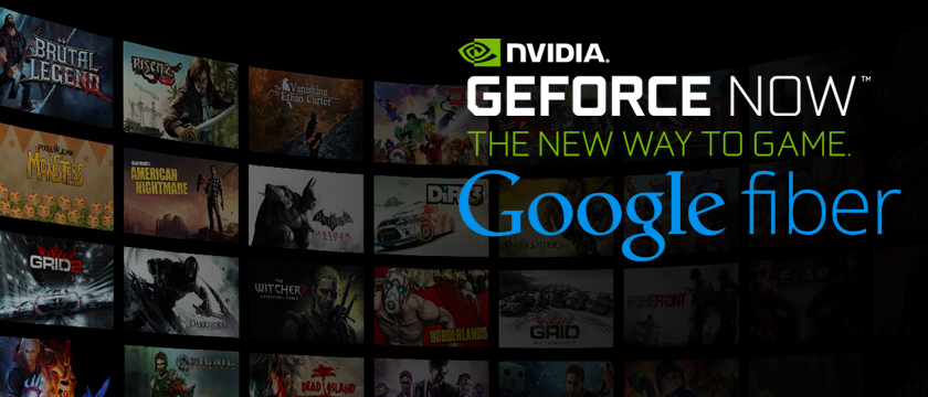 Stream Games Faster with Google Fiber and NVIDIA GeForce NOW