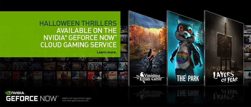 Stream a Trio of Halloween Treats on SHIELD with GeForce NOW
