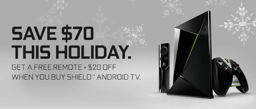 NVIDIA SHIELD Android TV Holiday Promo