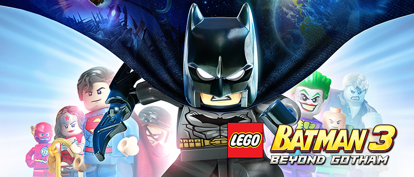 As Batman, you have to fight Brainiac in outer space and save the planet brick by brick in LEGO Batman 3: Beyond Gotham.