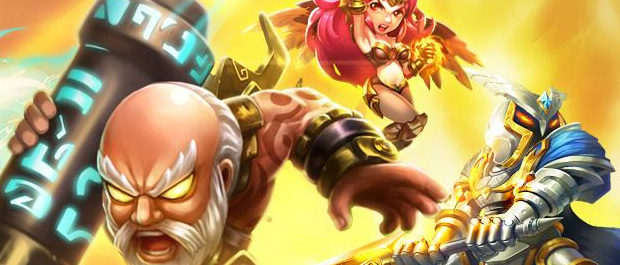 League of Angels Flies Onto Android Devices