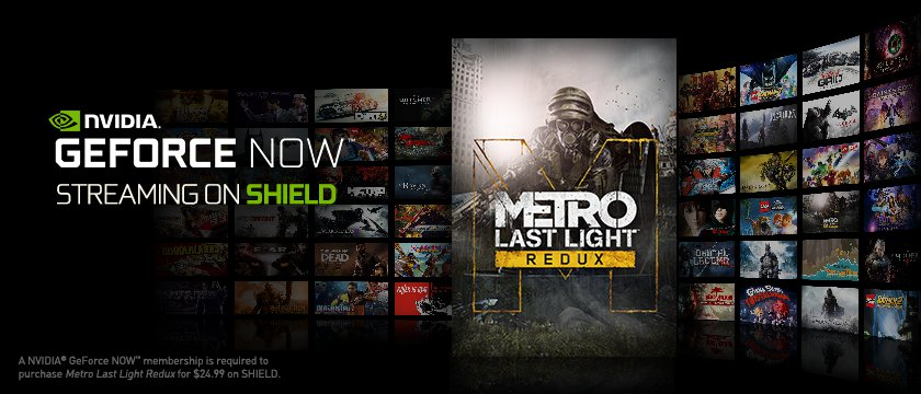Stream Metro Last Light Redux with GeForce NOW