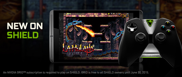 NVIDIA SHIELD™ Gets Three New GRID Games and a Central Europe Datacenter