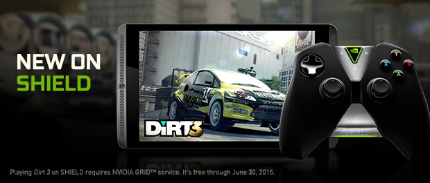 Dirt 3 Complete Edition Races onto NVIDIA SHIELD