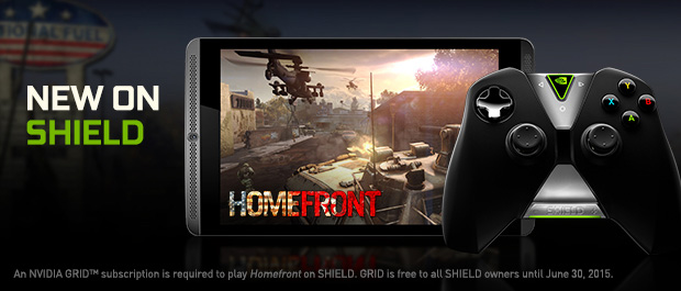Take Back the United States in Homefront, Now on NVIDIA® SHIELD™