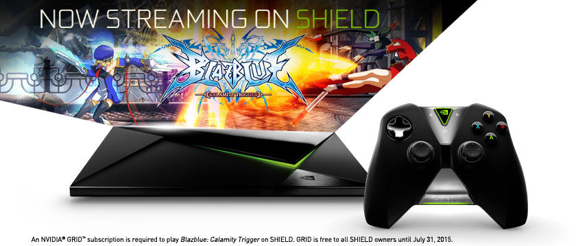 BlazBlue: Calamity Trigger is Now Streaming on NVIDIA™ SHIELD™
