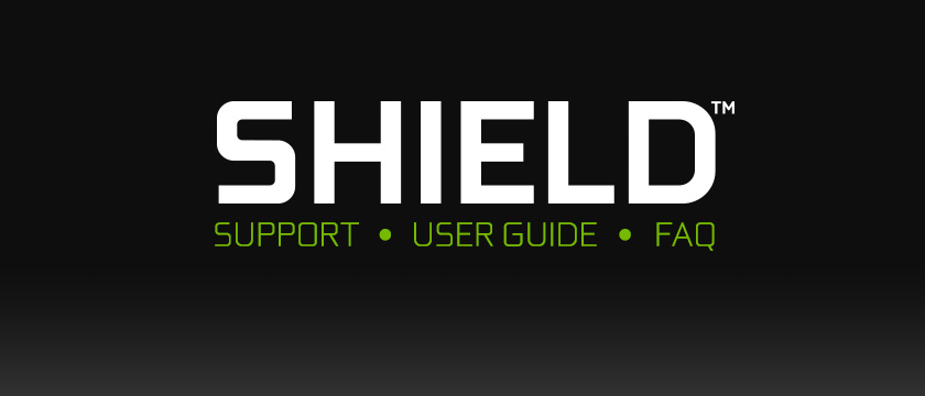 NVIDIA SHIELD Support, User Guide, and FAQ