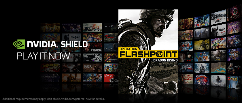 Play Operation Flashpoint: Dragon Rising on NVIDIA SHIELD with GeForce NOW