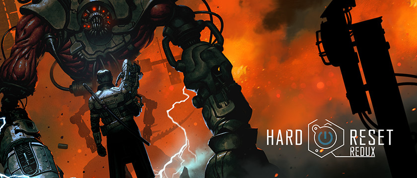 Hard Reset: Redux First Person Shooter Action Game on SHIELD with GeForce NOW