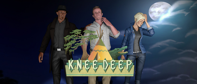 Play Knee Deep by Telltale Games on SHIELD Android TV with GeForce NOW