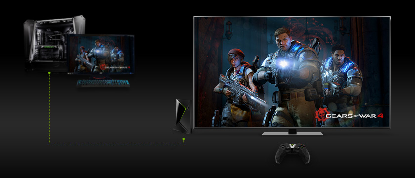 Cast your PC Games with SHIELD TV