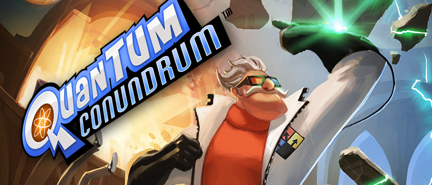 Play Quantum Conundrum on SHIELD with GeForce NOW