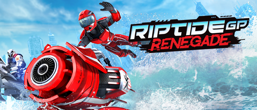 Play Futuristic Riptide GP: Renegade racing game on NVIDIA SHIELD today