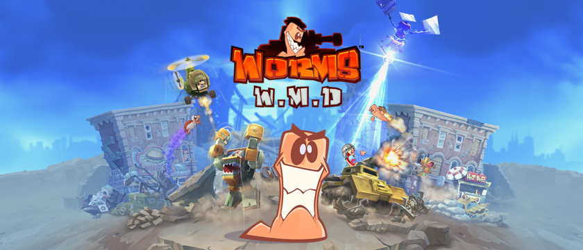 Play Worms W.M.D - on SHIELD with GeForce NOW!