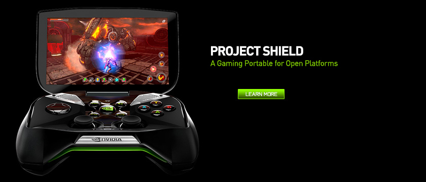 Project SHIELD - A gaming portable for open platforms