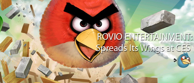 Rovio Entertainment Spreads Its Wings at CES