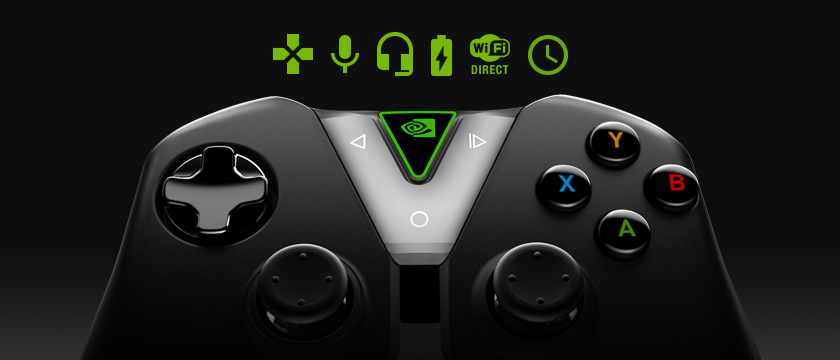 The SHIELD controller with precision game controls