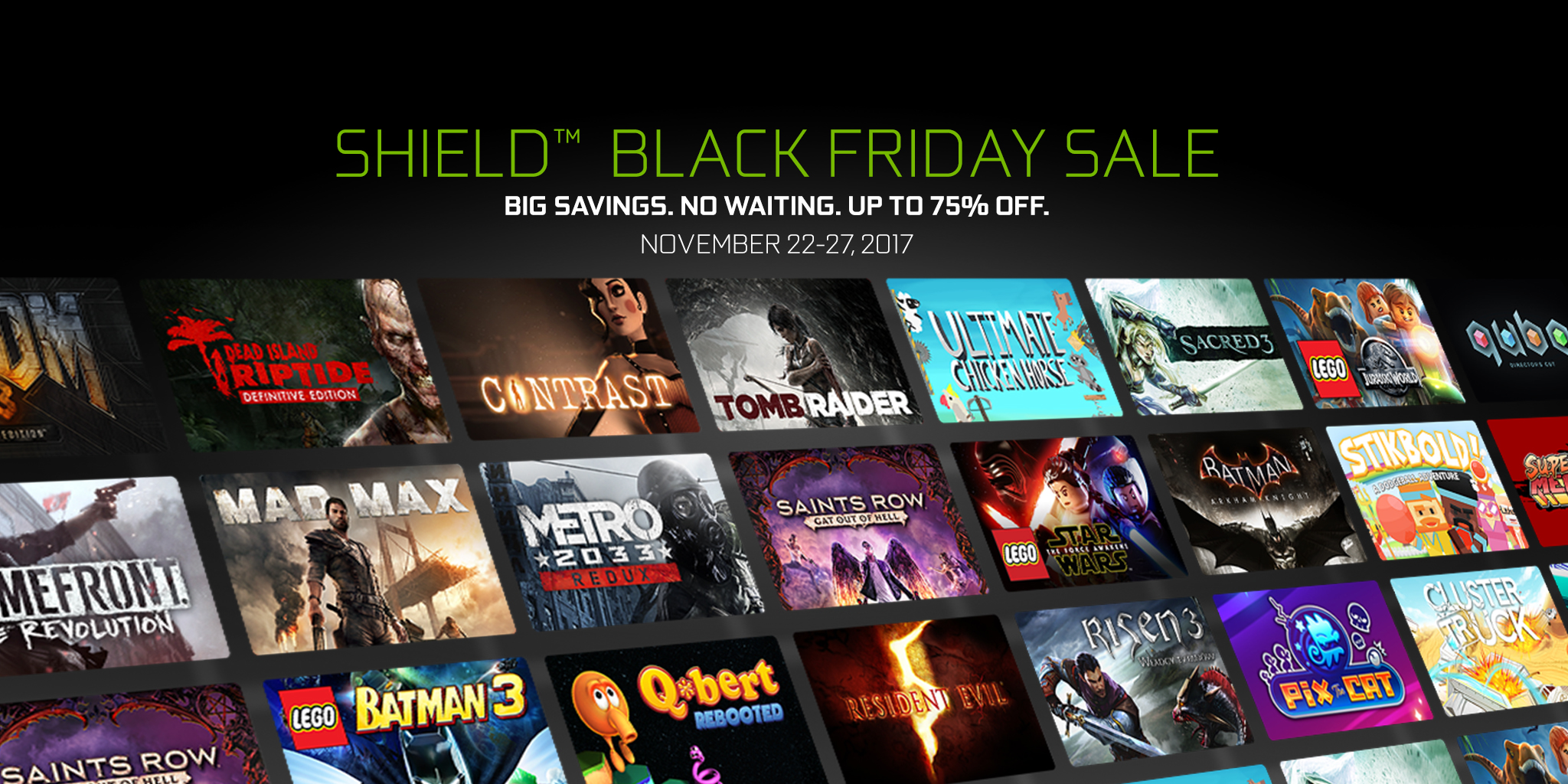 SHIELD Black Friday Game sale