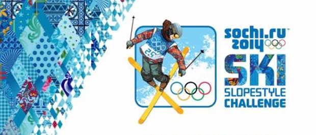 Sochi 2014 Mobile Game Introduces Ski SlopeStyle Challenge