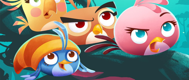 Angry Birds Stella Franchise Tops