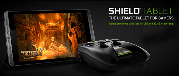 SHIELD Tablet Gets 32GB Storage and 4G LTE, Pre-Orders Now Open