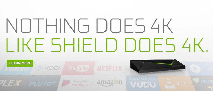 Stream 4K Content on NVIDIA SHIELD | NVIDIA SHIELD Blog