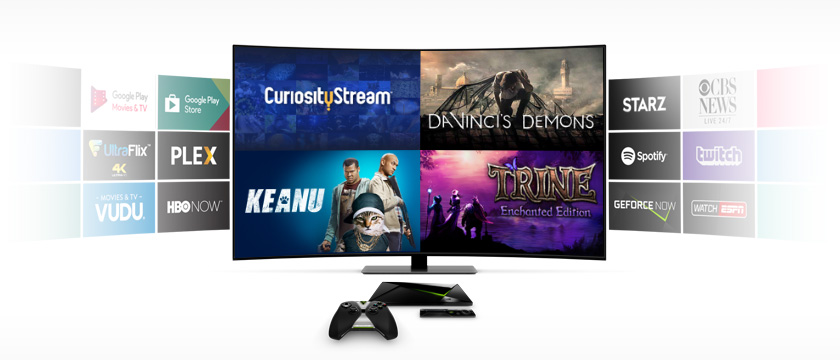 """This week, we're showcasing Trine Enchanted Edition on GeForce NOW, Key and Peele's """"Keanu"""" on HBO NOW, the TV show, """"Da Vinci's Demons"""" on STARZ, and the CuriousityStream TV app."""