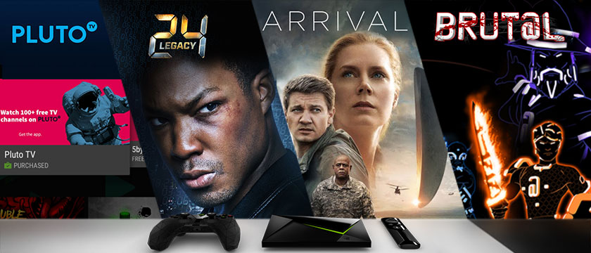 """This week, we're excited about the game, Brut@l on GeForce NOW, Pluto TV, """"Arrival"""" on Amazon Video, Google Play, and VUDU, and """"24 Legacy"""" on Hulu."""