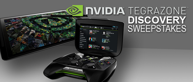 WIN an NVIDIA SHIELD - TegraZone Discovery Sweepstakes