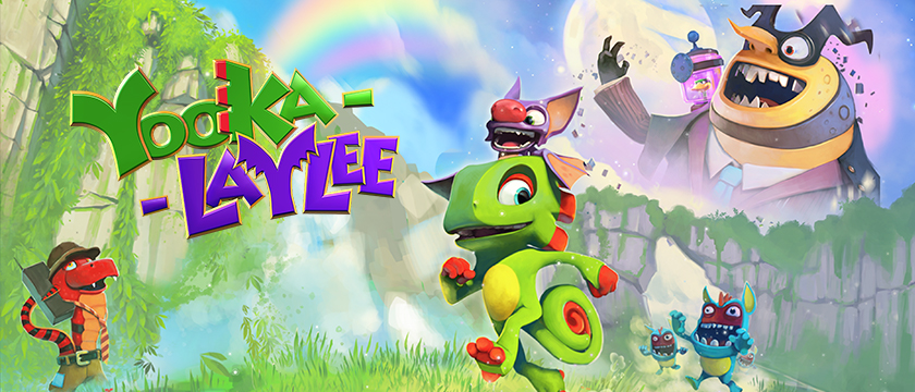 Yooka-Laylee Comes to GeForce NOW!
