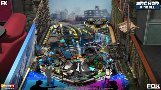 Play Archer Pinball on SHIELD