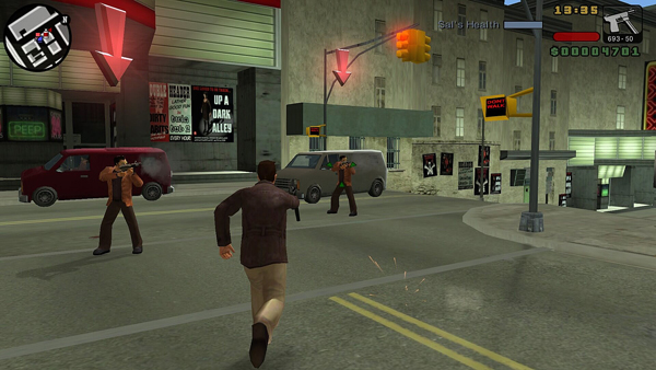 Grand Theft Auto - Liberty City Street Shooting