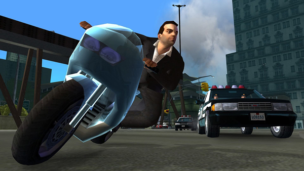 Grand Theft Auto - Toni Cipriani and Police Car Chase