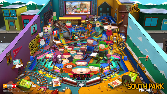Play South Park Pinball on SHIELD