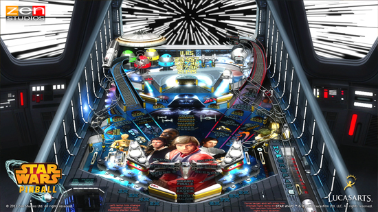 Play Star Wars Pinball on SHIELD